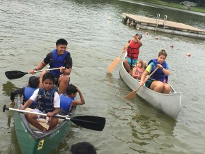 Day Camp Canoes