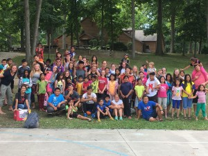 Day Camp 2016 Group Photo taken the last day before boarding the bus to go home.